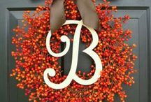 holiday fall decor / by Robin Browne