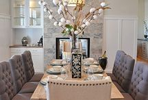 DINING ROOM / The place where good food and conversation meet. Make it a special place.  / by Marnie Fuchs Martin