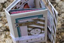 Swirlcards - Mini-albums / scrapbooking