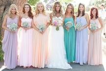 Bridesmaids & Brides | Weddings / by Serendipity Weddings & Nails