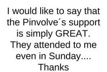 What Pinvolve Users Say / The Pinvolve community makes sure we know how much they ❤ Pinvolve, in emails, comments, posts and tweets. They make our hearts sing and brighten our day! How could we not share this?