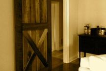 Custom Furniture by Farmyard Darlings / We create custom furniture -- barn doors, coffee tables, benches, farm tables, bars, buffets, beds, flags, frames, coat hooks, and much more -- all from reclaimed wood.