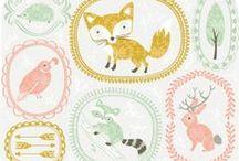 Vögel, Füchse, Eulen und Co. / Allerlei Lieblings-Getier: DIY, Illustrationen und mehr