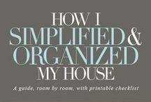 House - Simplify & Organize