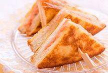 Recetas de sándwich / Sándwiches que te facilitan una comida o cena rápida. Disfruta del Club Sandwich, el famoso Croque Monsieur o un sencillo sandwich vegetal.