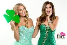 Green with Envy / This St. Patrick's Day, we're pinning everything from Mint to Emerald....including some of our hottest green prom dresses from Spring 2014! / by Flirt Prom