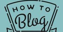 Blog - Getting Started / Blogging advive, tips, tricks.