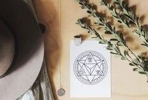 Flat Lays + Faves / A collection of our favourite Flat Lays and sacred spaces featuring our products