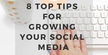 Social Media Marketing / How to grow your Instagram, Twitter and Pinterest success!