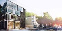 Budynek biurowy, Gdynia / Powierzchnia całkowita: 900 m² Projekt w realizacji  Wizualizacja: Ideograf