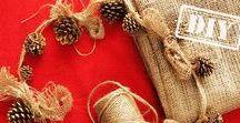 Новый год / Новогодние украшения, идеи оформления праздничного стола, интерьера