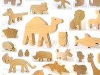 Wooden ScrollSaw Puzzles
