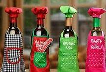 láhve v oblečcích