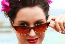 HappyCatz sunnies / cat eye sun shades