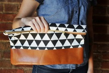 DIY /bags/ / coin purses, wallets, phone cases, clutches, toiletry bags, totes and more / by Eva