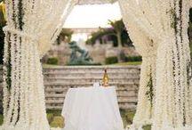 Lake Tahoe ceremony ideas / chuppahs, altars, decor, seating