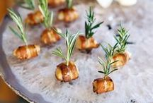 Appetizers / Appetizers and small bites for Lake Tahoe wedding food!