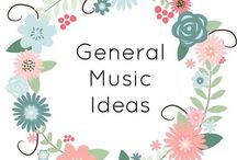 General Music Ideas // / Resources and ideas for the General K-5 Music Teacher! This is a board full of miscellaneous pins related to concepts within the elementary music curriculum, such as notating and reading music, listening activities, music history, composers, instruments, and more.