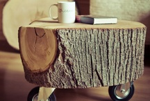 Wood / something what you can do with wood. furniture makeovers / by Eva