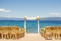 Lake Tahoe Weddings / Beautiful Lake Tahoe weddings planned, designed, and produced by One Fine Day Events.