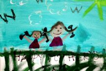 KIANA / CHILDREN'S ART & CRAFT DIY / My kids love art and I encourage it almost as much as health and fitness! I am inspired by the unique way they see things, the choices of colors and textures and love how they express themselves through art. Here are some of my favorites!