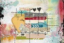 Mixedmedia - Art journaling - Paint.......ART!