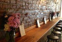 Restaurant Interior Design / Restaurants I want to visit! Trendy interior design of chic restaurants.