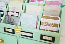 Heidi Swapp / A variety of Heidi Swapp products and tutorials - lots of Memory Planner Album ideas
