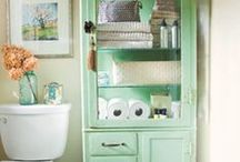 Bathroom Designs. Decor. Storage / Gorgeous ideas for your new Bathroom or renovate an old one