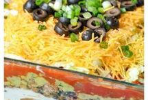 Salsa, Toppings and Dip Recipes / Love dip recipes? I love a good spinach dip, layered taco dip, or a good old buffalo chicken dip recipe! Find that and even some salsa recipes and even hummus recipes here!