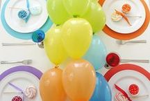 Party Ideas / birthday party ideas and recipes and how to entertain party plans and party planning.