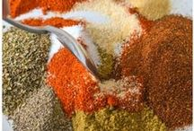 Homemade Seasonings and Spices / Homemade Seasoning Mixes. Save money and reduce your budget by making your own spices at home. DIY.