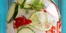 Infused Water Recipes / Infused Water Recipes - Flavored Water to help you stay hydrated for a healthy lifestyle