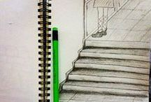 From My Sketchbook / Instagram profile: @mimarkalemi  / Architecture, drawing, sketch and etc. All drawings are mine.