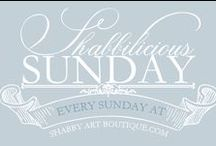 Shabbilicious Sunday / Each week in this series from Shabby Art Boutique I will share with you a visit to a home of one of our shabbilicious friends. What could be better than to take a tour around their home, have a chat and get to know a little more about them.