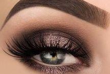 make up - oči - vlasy - zdraví