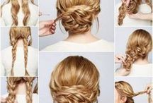 Everyday hairstyles / Everyday hairstyles for medium length and long hair step by step. Beautiful Прически на каждый день для средних и длинных волос