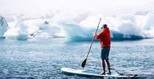 SUP + SNOW / Cold winter days are no excuse to not go paddle and #exploreyourworld