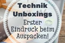 Technik Unboxings - Erster Eindruck beim Auspacken! / Was ist alles im Lieferumfang enthalten und wie ist der erste Eindruck. Beim Technik Unboxing erfährst du es! Hier findest du daher interessante Unboxings!