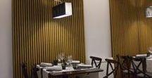 Muebles - restaurante - / Trabajo realizado en colaboración con El Taller de Belén en Oviedo.