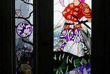 | Glass windows |