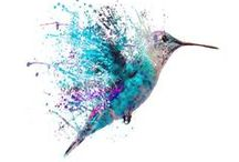 Watercolor tattoo / # tattoo # ideas # watercolor