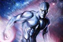 Silver Surfer / # Silver # Surfer # Comics # Marvel # DC # Hero # Norrin Radd # Galactus # Zenn-La # Fantastic Four