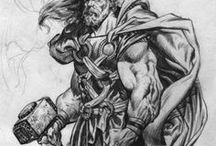 Marvel sketching