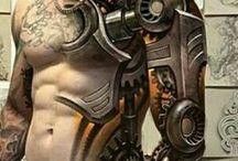 Biomechanic tattoo