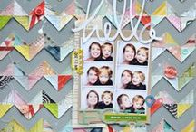 Scrapbooking | Rad Layouts / Inspiring scrapbook layouts, both clean & simple and more detailed.  / by Jennifer S. Wilson