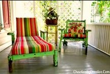 Screen Porch & Patio  / Ideas for our new screen porch, patio and other outdoor dreams for The Hacienda / by Mod Betty RetroRoadmap