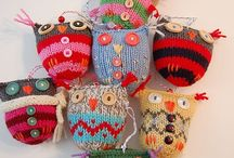 Owl Love / Handmade owls