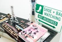 Fashion Accessories / Handbags, belts, hats, scarves, etc. / by Esme Cape