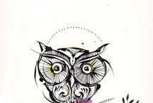 Owls / by Jennifer Dengler